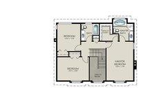 Country Floor Plan - Upper Floor Plan Plan #427-2