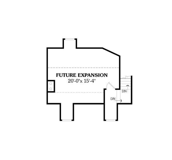 Country Floor Plan - Other Floor Plan Plan #456-2
