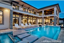 Architectural House Design - Contemporary Exterior - Outdoor Living Plan #930-513