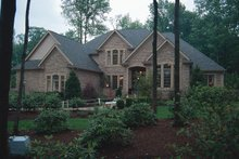 Dream House Plan - European Exterior - Front Elevation Plan #20-209