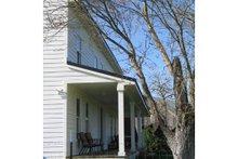 Farmhouse Exterior - Covered Porch Plan #485-1