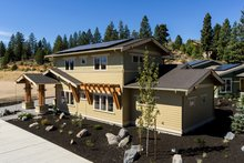 Craftsman Exterior - Front Elevation Plan #895-83