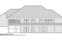 Home Plan - Bungalow Exterior - Rear Elevation Plan #70-980