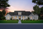 Farmhouse Style House Plan - 3 Beds 2.5 Baths 1954 Sq/Ft Plan #1074-10 Exterior - Front Elevation