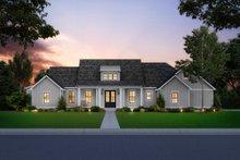 Architectural House Design - Farmhouse Exterior - Front Elevation Plan #1074-10
