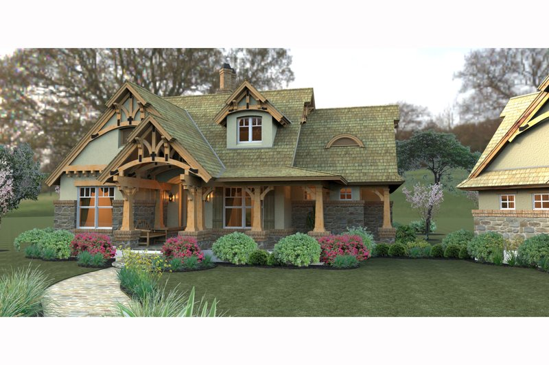 Craftsman Exterior - Other Elevation Plan #120-174 - Houseplans.com