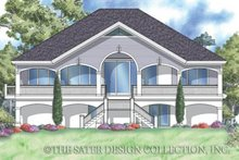 Home Plan - Southern Exterior - Rear Elevation Plan #930-163