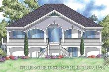 House Plan Design - Southern Exterior - Rear Elevation Plan #930-163