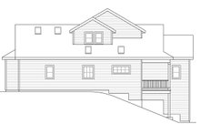 Country Exterior - Rear Elevation Plan #124-1060