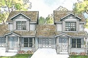 Cottage Style House Plan - 4 Beds 3 Baths 1852 Sq/Ft Plan #124-805 Exterior - Front Elevation