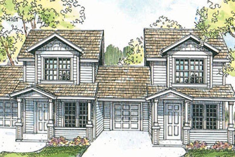 Dream House Plan - Cottage Exterior - Front Elevation Plan #124-805