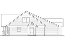 House Plan Design - Craftsman Exterior - Other Elevation Plan #124-1148