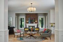 Craftsman Interior - Family Room Plan #928-312