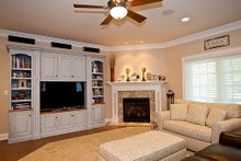 Architectural House Design - Family Room - 3500 square foot Country Home