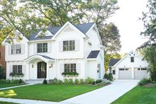 House Plan Design - Traditional Exterior - Front Elevation Plan #928-349