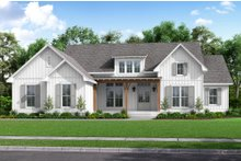 House Plan Design - Farmhouse Exterior - Front Elevation Plan #430-226