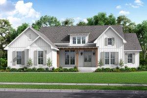 Farmhouse Exterior - Front Elevation Plan #430-226