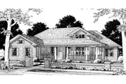 Traditional Style House Plan - 4 Beds 2 Baths 2191 Sq/Ft Plan #20-315 Exterior - Front Elevation