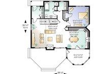 Country Floor Plan - Main Floor Plan Plan #23-2042