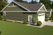Craftsman Style House Plan - 3 Beds 2 Baths 1669 Sq/Ft Plan #1070-49 Exterior - Other Elevation