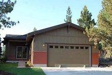 Home Plan - Bungalow Exterior - Rear Elevation Plan #434-1