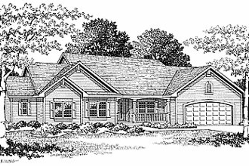 Dream House Plan - Traditional Photo Plan #70-254