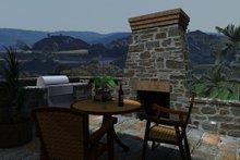 Craftsman Exterior - Outdoor Living Plan #120-162