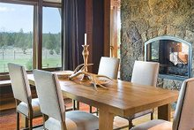 Home Plan - Dining Room - 5300 square foot Craftsman home