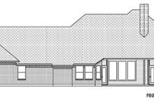 Dream House Plan - European Exterior - Rear Elevation Plan #84-522