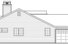 Ranch Exterior - Other Elevation Plan #124-818