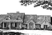 Country Style House Plan - 4 Beds 2.5 Baths 1902 Sq/Ft Plan #310-166 Exterior - Front Elevation