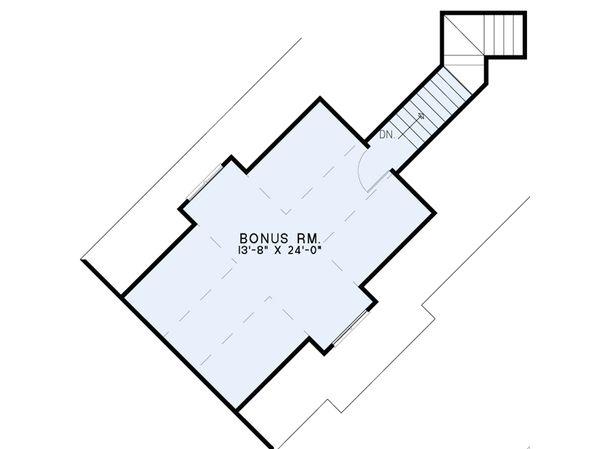 Craftsman Floor Plan - Other Floor Plan Plan #17-2569