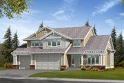 Craftsman Style House Plan - 3 Beds 3 Baths 2512 Sq/Ft Plan #132-111