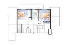 Cottage Floor Plan - Upper Floor Plan Plan #23-2711