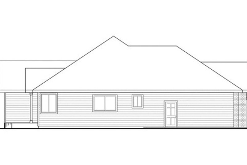 Country Exterior - Other Elevation Plan #124-835 - Houseplans.com