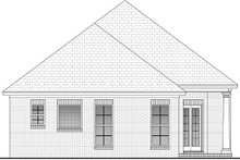 Dream House Plan - European Exterior - Rear Elevation Plan #430-50