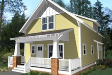 House Plan Design - Craftsman Photo Plan #461-24
