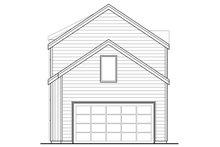 Contemporary Exterior - Rear Elevation Plan #124-1129