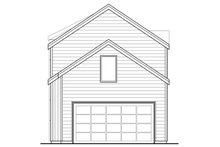 House Plan Design - Contemporary Exterior - Rear Elevation Plan #124-1129