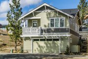 Craftsman Style House Plan - 2 Beds 1 Baths 980 Sq/Ft Plan #895-55 Exterior - Rear Elevation