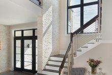 House Design - Contemporary Interior - Entry Plan #930-20
