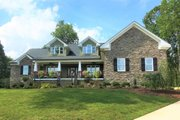 Craftsman Style House Plan - 4 Beds 4 Baths 4086 Sq/Ft Plan #898-11 Exterior - Front Elevation