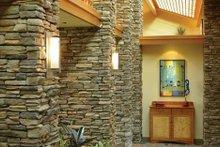 Architectural House Design - Ranch Interior - Entry Plan #48-433