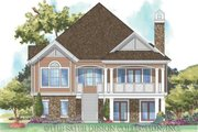 Traditional Style House Plan - 3 Beds 2 Baths 2137 Sq/Ft Plan #930-160 Exterior - Rear Elevation
