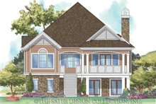 House Plan Design - Traditional Exterior - Rear Elevation Plan #930-160