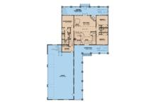 Farmhouse Floor Plan - Main Floor Plan Plan #923-104
