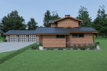Dream House Plan - Contemporary Photo Plan #1070-94