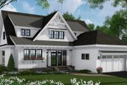 Farmhouse Style House Plan - 4 Beds 3 Baths 2652 Sq/Ft Plan #51-1148 Exterior - Front Elevation