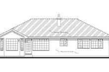 Traditional Exterior - Rear Elevation Plan #18-1004