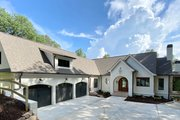 Modern Style House Plan - 4 Beds 4.5 Baths 3794 Sq/Ft Plan #437-108 Exterior - Front Elevation